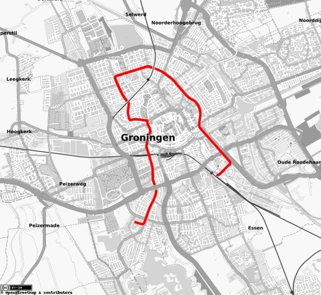 Tram in Groningen, ringlijn