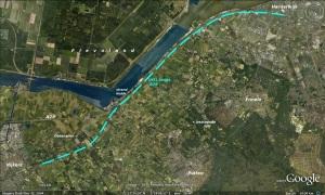 HSL Utrecht - Zwolle langs A28 naar Harderwijk